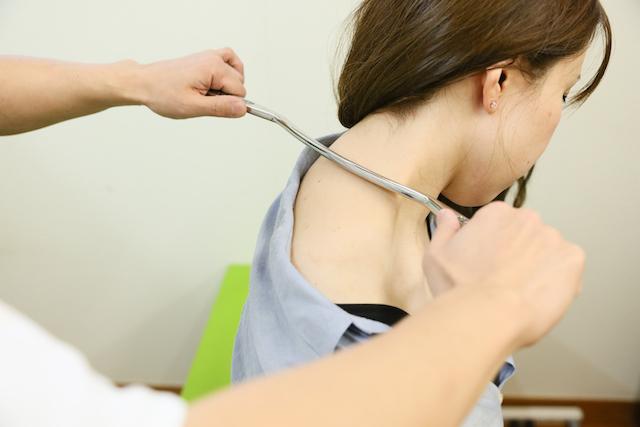 コリや筋膜の癒着に高い即効性
