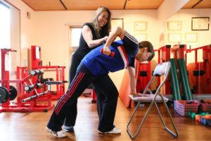 一人一人に合わせて効果的な体作りを指導